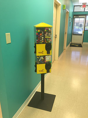 Gumball Machine - Pediatric Dentist in Memphis, TN