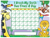Color Brushing Chart - Pediatric Dentist in Memphis, TN